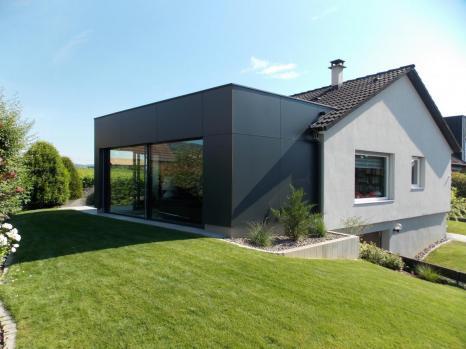 Extension maison bois Beblenheim